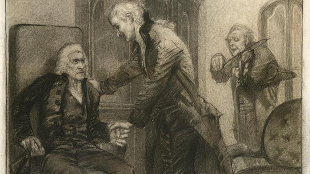 Почему сальери презирает жизнь презирает слепого старика кратко